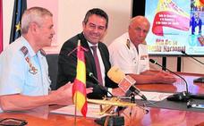 La Base Aérea y el Consistorio ultiman el acto de homenaje a la bandera del 7 de octubre