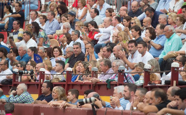 El tendido, en la primera corrida de la Feria de Murcia