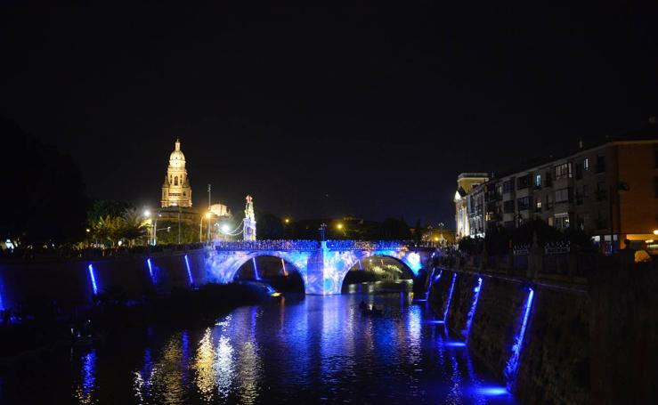 Luz, música e historia para conmemorar los tres siglos del Puente Viejo