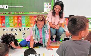 Un colegio donde solo hablan español tres de los nuevos alumnos solicita atención preferente