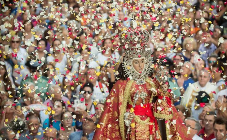 La Virgen de la Fuensanta vuelve a su santuario