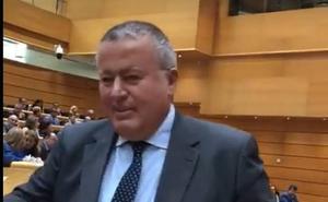 Francisco Bernabé toma posesión de su cargo como senador por Murcia