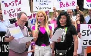 Concentración en Alguazas para exigir más seguridad