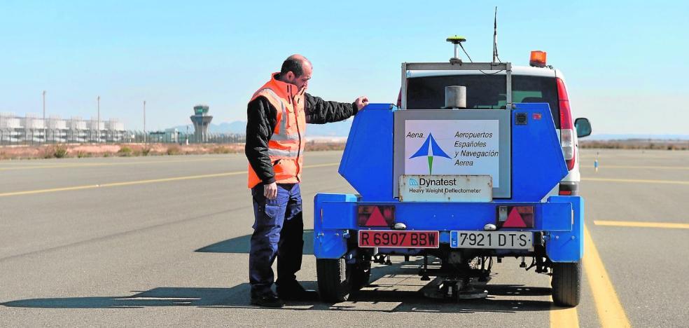 Aena cuenta con que las aerolíneas de San Javier pasarán a operar en Corvera