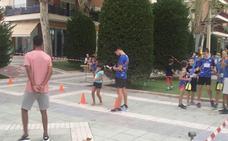 77 niños inauguran las sesiones de Jugando al Atletismo en la Calle de los Juegos del Guadalentín