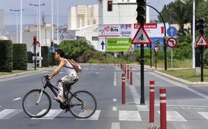 Estudian dos nuevos carriles bici en El Esparragal y El Carmen