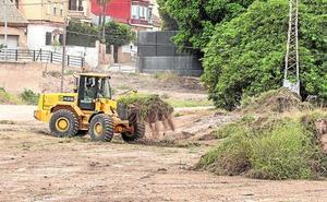 Vecinos de La Aljorra denuncian que la obra del tanque de tormentas lleva paralizada 9 meses