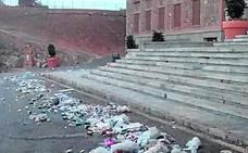Los romeros dejan siete toneladas menos de basura que en 2017