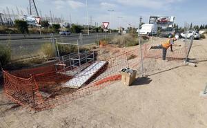 El nuevo colector de Espinardo entrará en funcionamento este mes de octubre