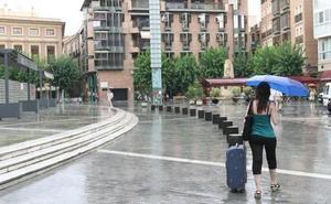 La lluvia vuelve a amenazar el fin de semana en la Región de Murcia
