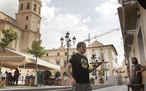 El casco antiguo de Lorca se blindará con maceteros y furgones por la alerta antiterrorista