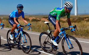 Valverde: «Al principio de la Vuelta no pensaba estar aquí»