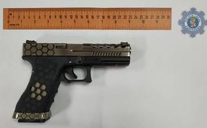 Intervienen un arma simulada a un joven de 16 años de Cartagena