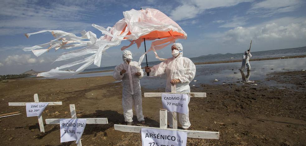 SOS por los metales pesados en el Mar Menor