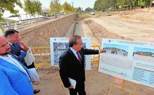 Un puente doble sobre el Guadalentín sacará 20.000 coches del centro de Lorca al día