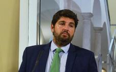 López Miras tacha de «aberración» el análisis de Morán de la cuenca del Segura