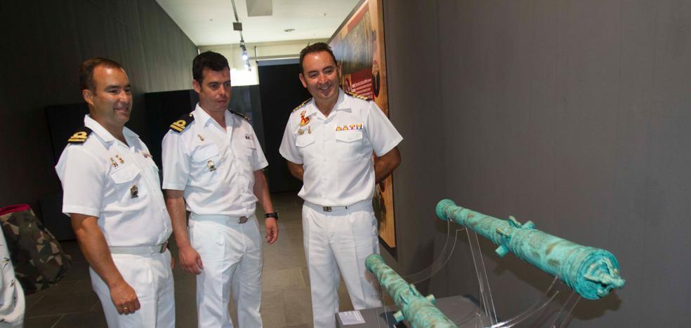 El Arqua muestra 29 piezas salvadas del expolio en la fragata 'Mercedes'