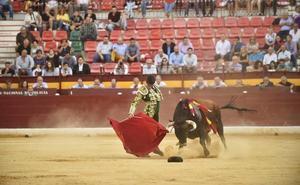 Marcos y Ramón Serrano abren la puerta grande en la novillada de Feria