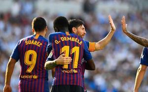 El Barça remonta por los pelos en Anoeta
