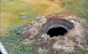 Resuelto el misterio del 'cráter del fin del mundo'