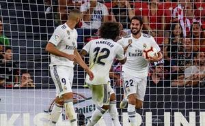 El gol de Isco que salva un punto para el Madrid