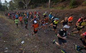 Medio millar de deportistas toman la 'Peña Rubia'