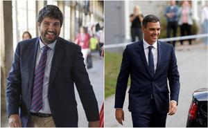 López Miras asegura que a Sánchez «no le gustará lo que va a escuchar» en la reunión de este martes