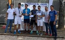 El Torneo Intersport Zurano de pádel reúne a 60 parejas en los Juegos del Guadalentín