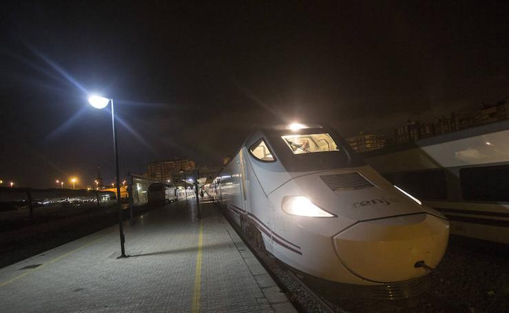 Primer viaje del tren híbrido desde la Región