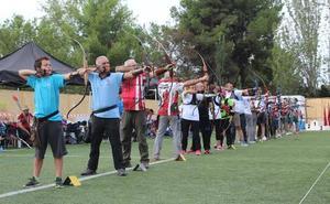 45 arqueros se congregan en la 5ª Jornada de Liga de Aire Libre de Tiro con arco
