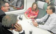 La Región estrena la red de alta velocidad con el tren híbrido