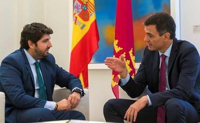 Sánchez garantiza a Miras que seguirá cumpliendo la ley del Trasvase del Tajo