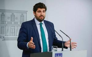 López Miras propone suprimir todos los aforamientos