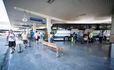 Desde la estación de autobuses de Murcia a Shangái o La Habana