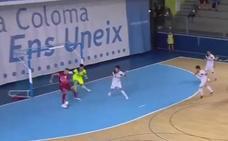 El jugador de ElPozo Pito marca el segundo mejor gol del arranque liguero