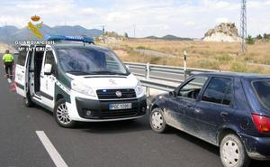 Detenido por conducir en sentido contrario durante más de 16 kilómetros por la RM-15