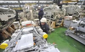 Los motores de las corbetas saudíes darán dos años de trabajo en Navantia