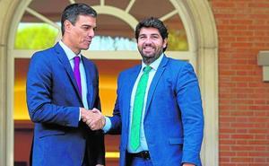 Miras reprocha a Sánchez «la falta de respuestas a las demandas de Murcia»