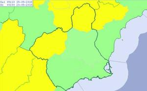 El Altiplano y el Noroeste, de nuevo en alerta por tormentas hoy