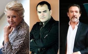 Lola Herrera, Ginés García Millán, Els Joglars e Ismael Serrano, en el Guerra