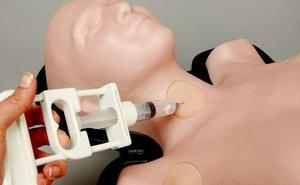 La UMU diseña un simulador médico que mejora los procesos de punción aspiración