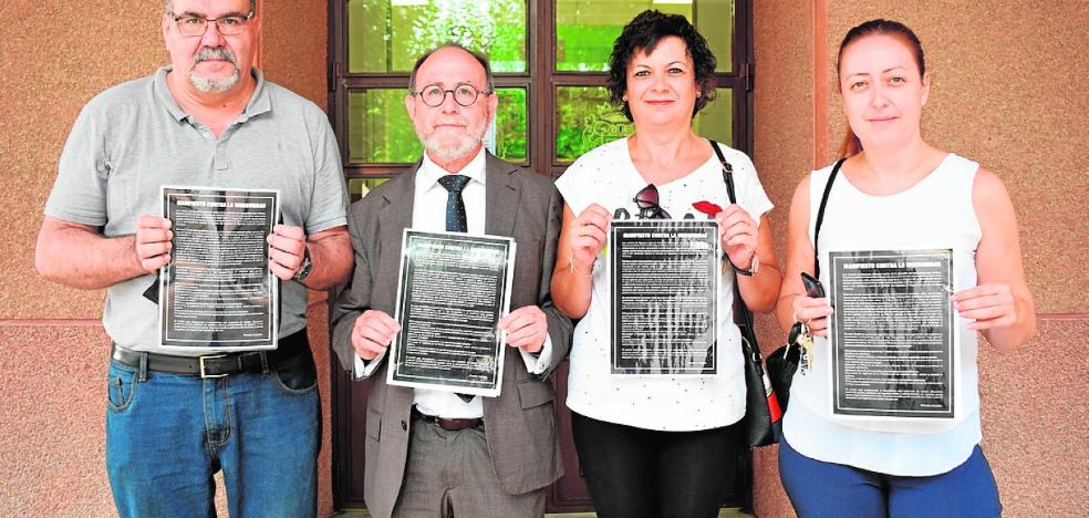 Medio millar de vecinos de Alguazas respaldan el manifiesto contra la inseguridad