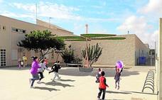 Los escolares se ponen a la sombra en San Pedro