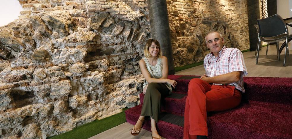 Recuperan los restos de los baños árabes de la calle San Antonio