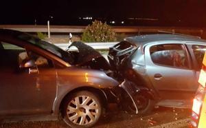 Cinco accidentes de tráfico dejan una veintena de heridos en las carreteras de la Región