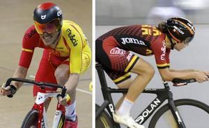 Los murcianos Eloy Teruel y Gloria Rodríguez se proclaman campeones de España en pista
