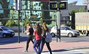 Los termómetros se situarán en otoño hasta 0,5 grados por encima de la media histórica