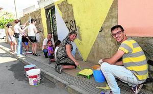 Arte urbano y vecinal en Puente Tocinos