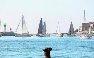 Los barcos 'Spaniard' y 'Carmen', los más rápidos