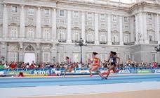 Atletismo en las calles de Madrid